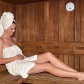 Schwanger in die Sauna? Geht das?