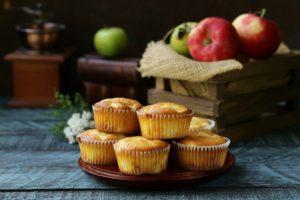 Apfelkuchen in Muffinform